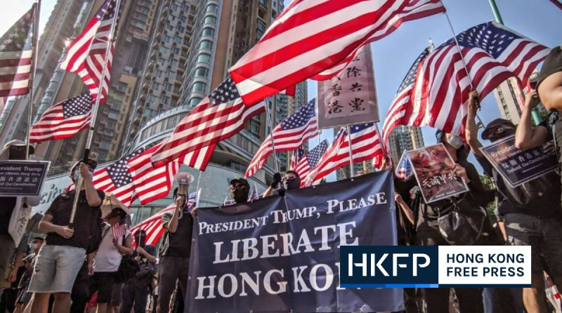 trump china foreign ministry george floyd