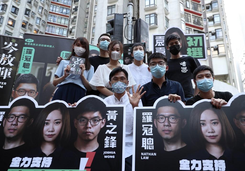 democrats election hong kong