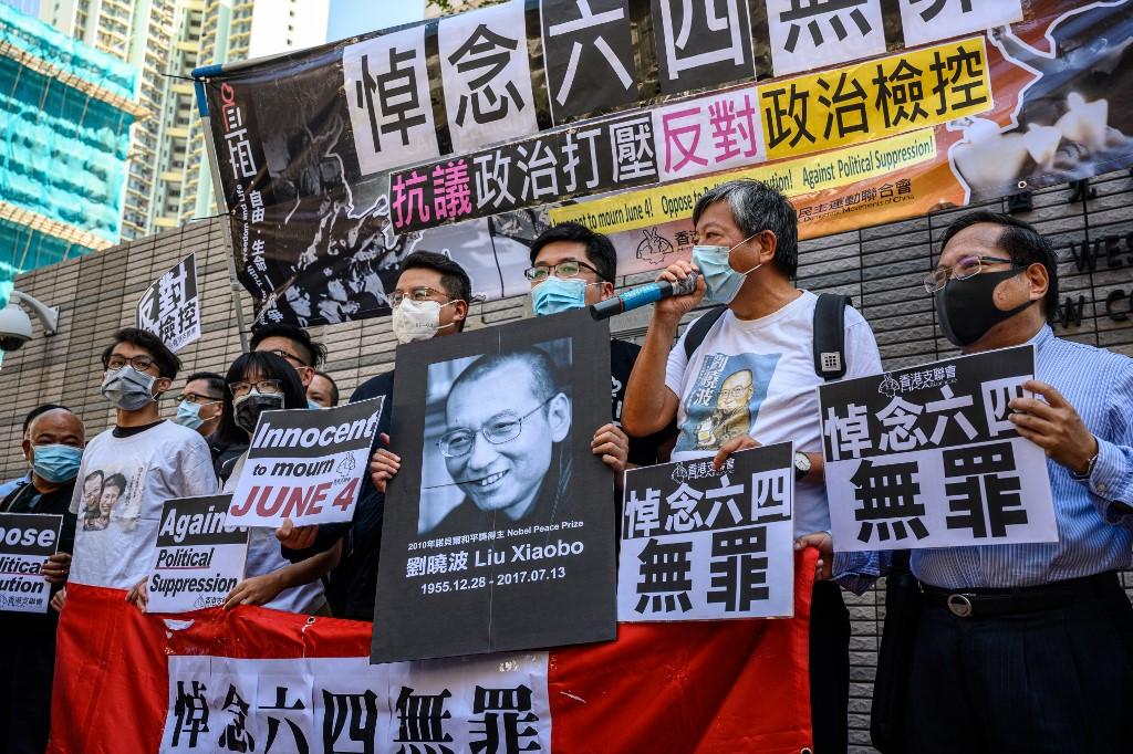 Tiananmen Square activists