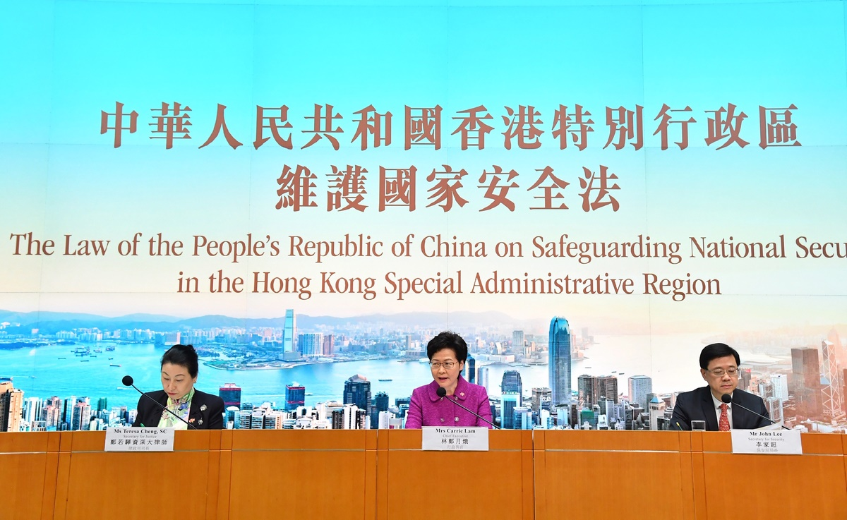 national security carrie lam john lee teresa cheng