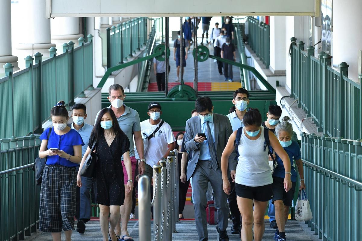 Coronavirus virus covid-19 ferry