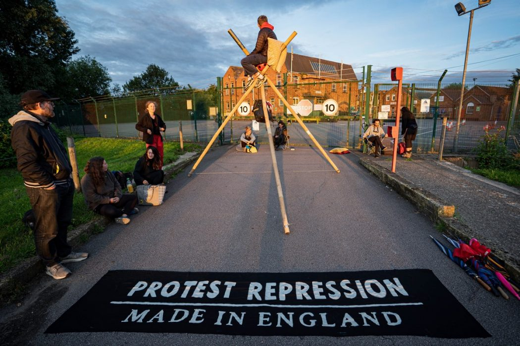 Extinction Rebellion PW Defence
