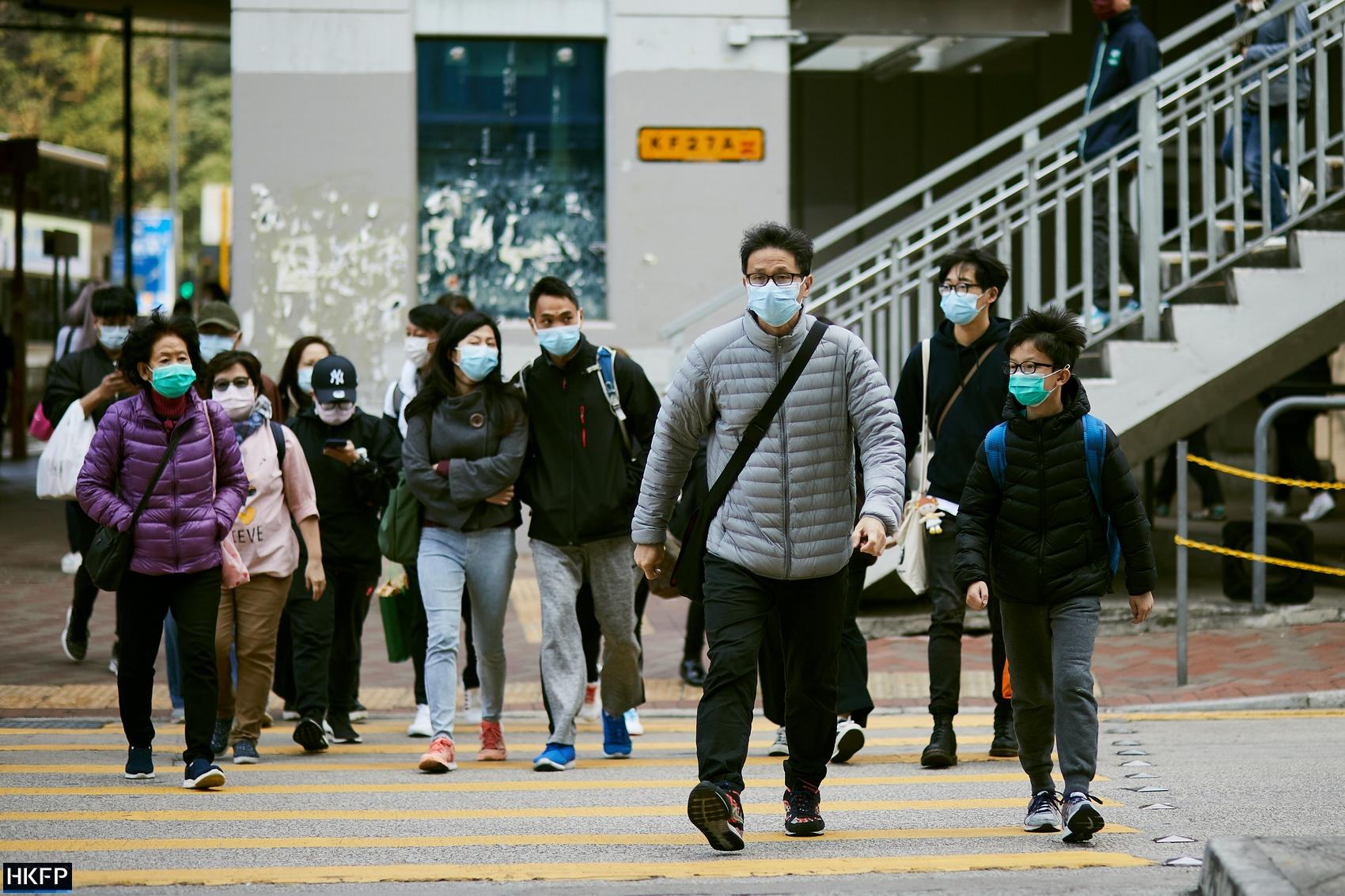 covid covid-19 coronavirus face masks streets