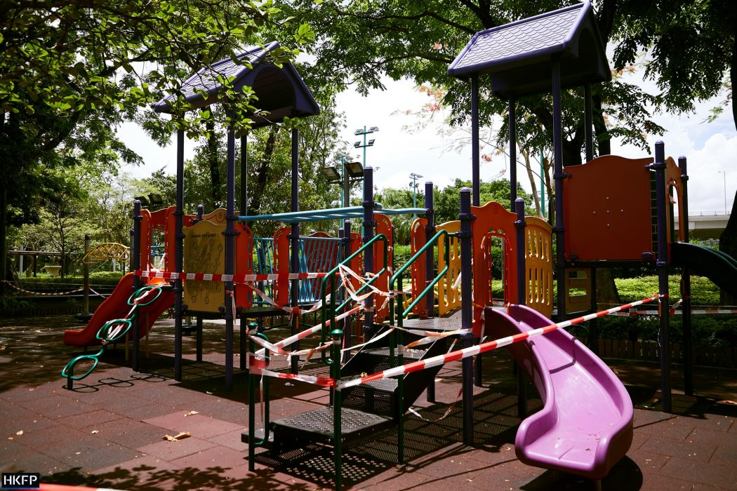 covid covid-19 coronavirus playground closed