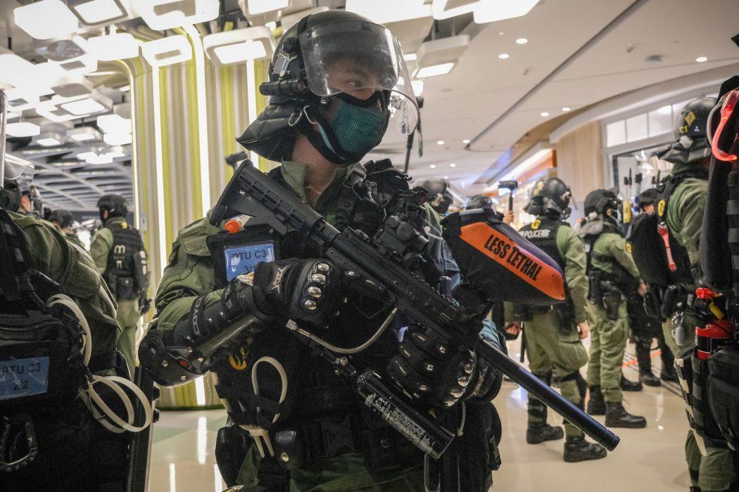 Yuen Long July 21, 2020 Police pepper ball gun