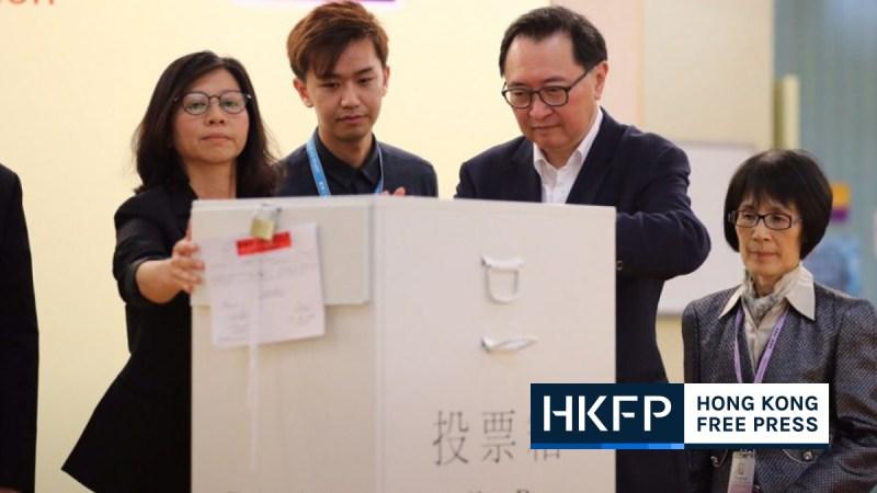 2020 legco election confirmation form