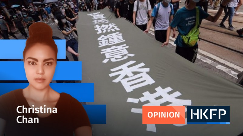 Article - Opinion - Christina Chan - really fucking love Hong Kong