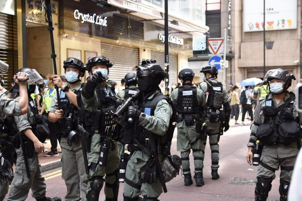 police protest march five demands 1 July 2020 causeway bay