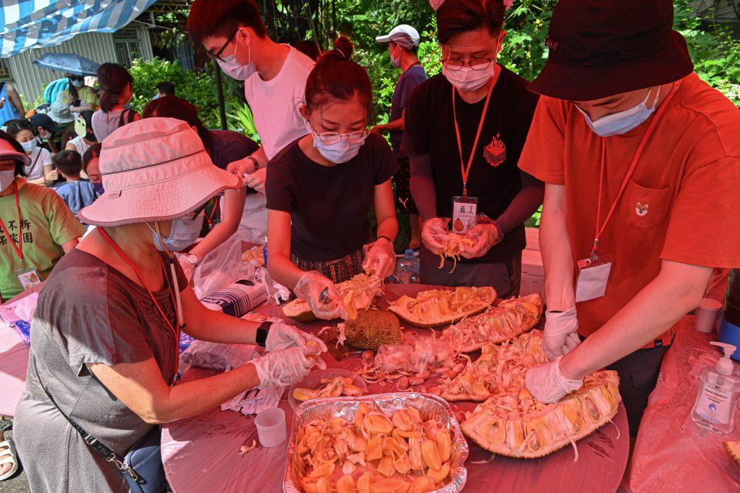Wang Chau jackfruit festival