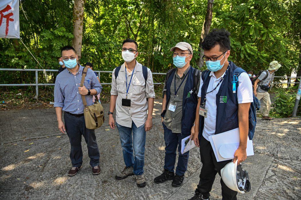 wang chau eviction