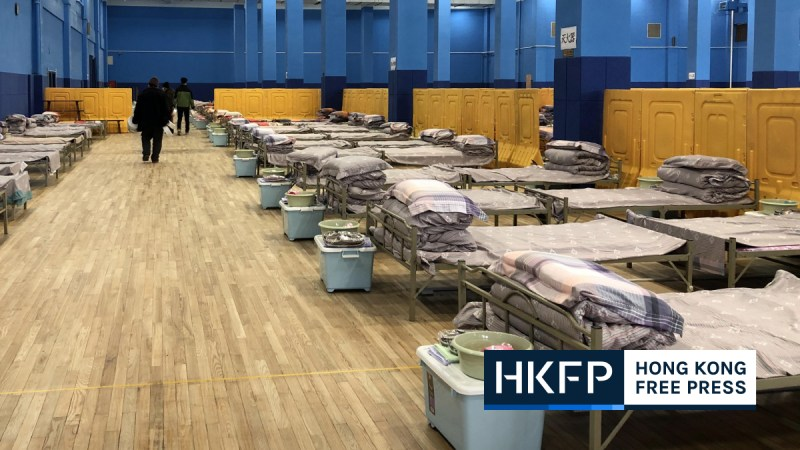 Hong Kong field hospital