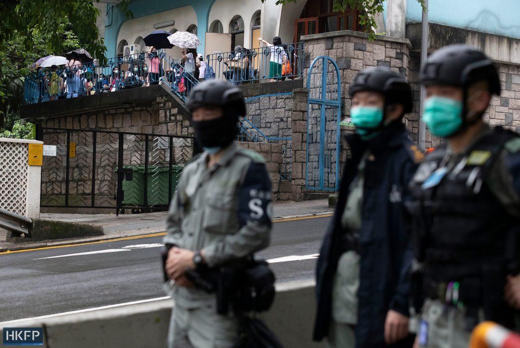 police mask coronavirus covid masks