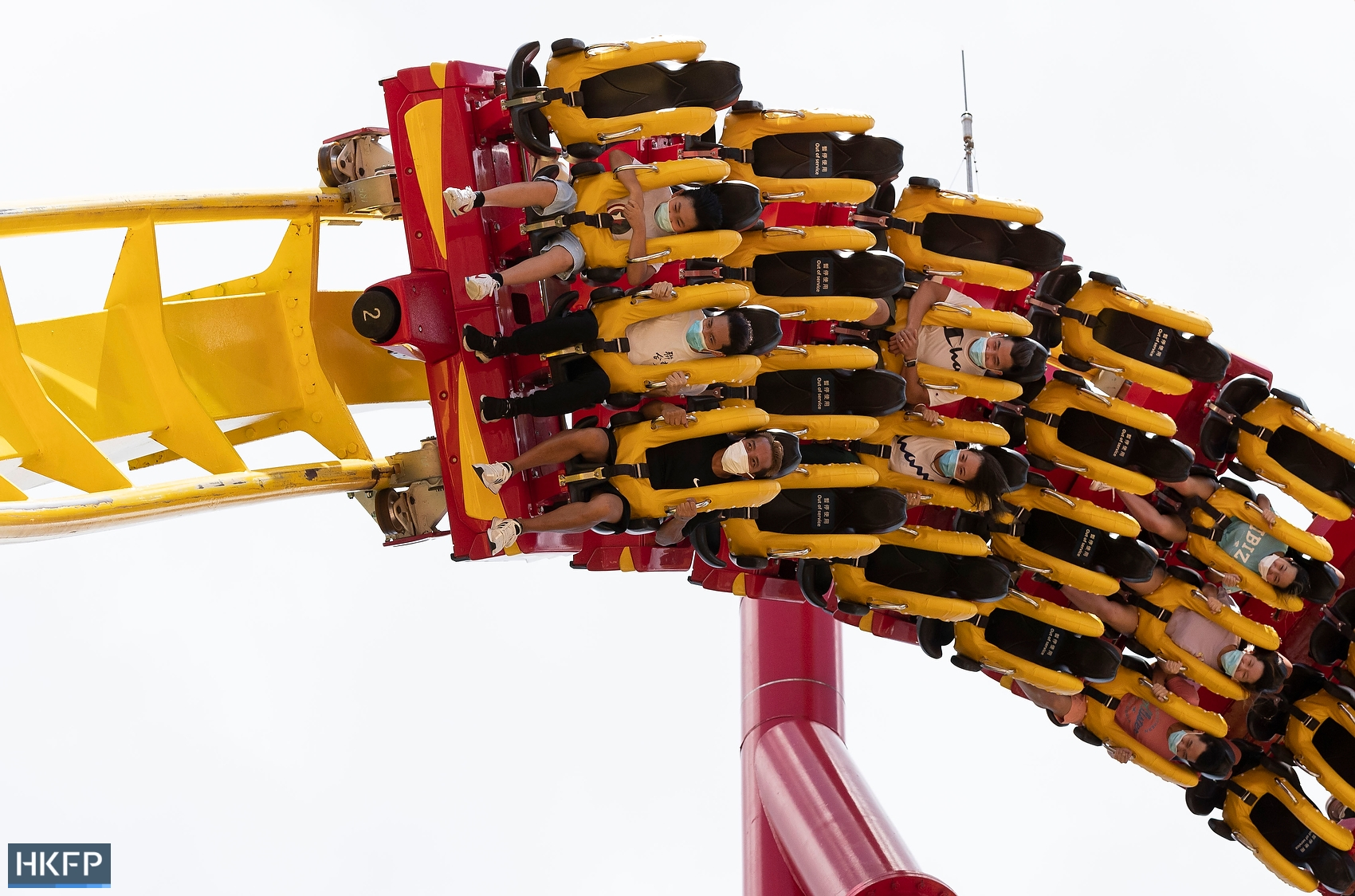mask ocean park rollercoaster coronavirus covid masks