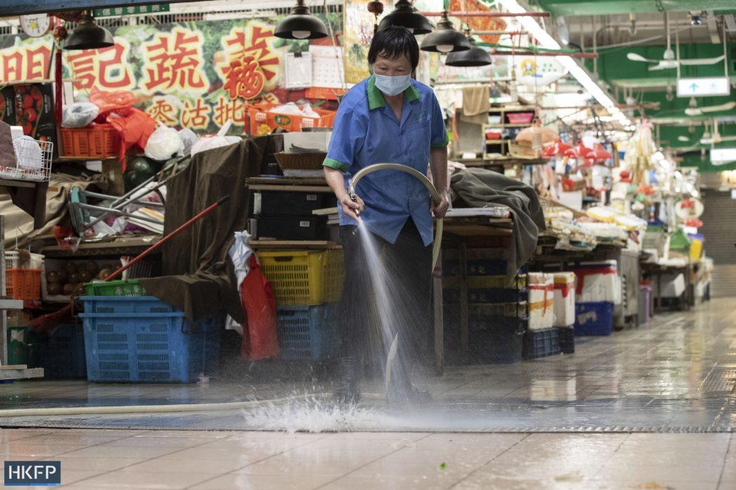 covid-19 market clean