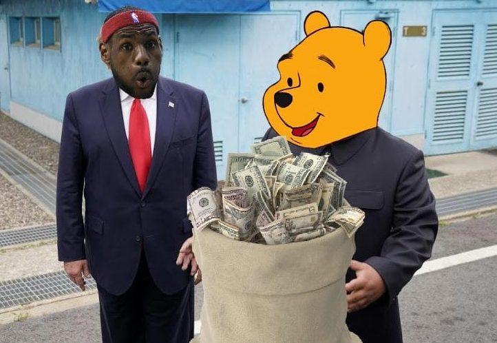 nba lebron james winnie the pooh meme
