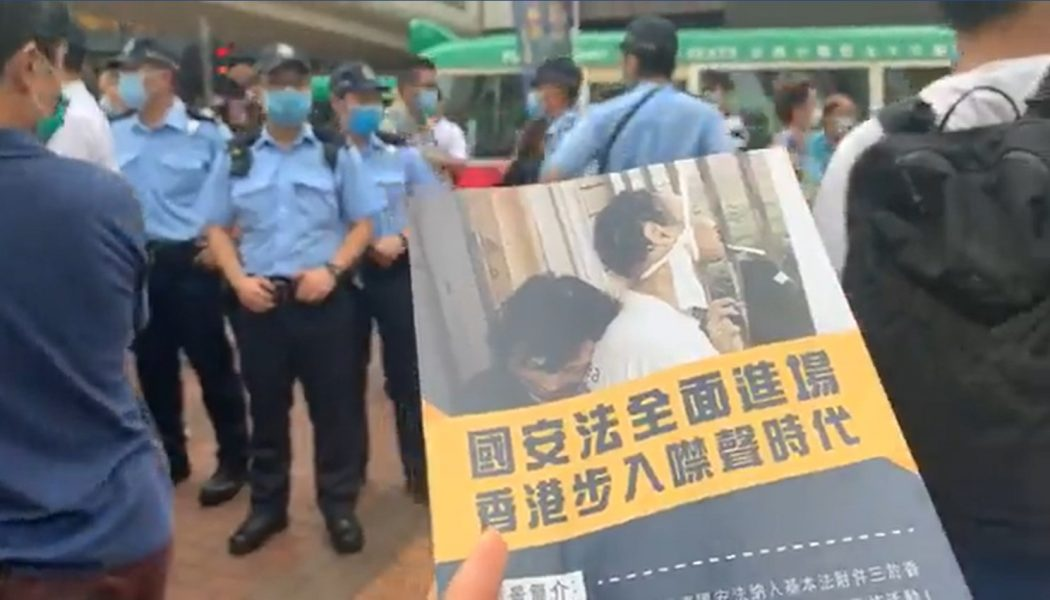 tin shui wai connection national security law liberate hong kong the revolution of our times kwai fong