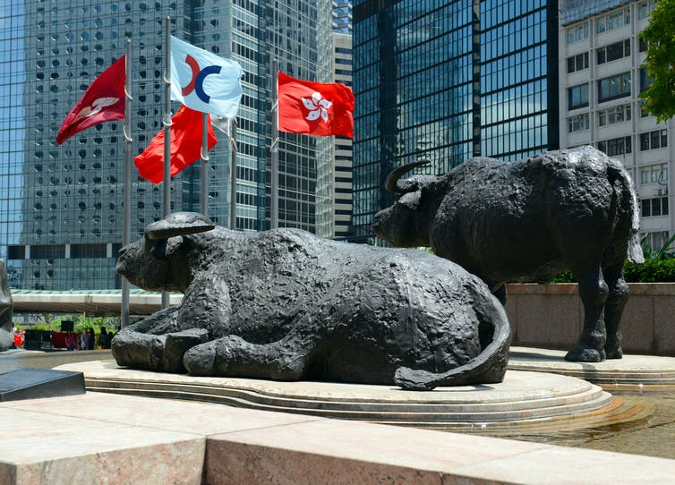 hong kong finance stock exchange