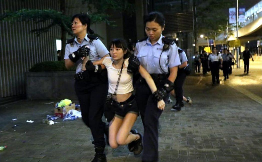 Ho Kau-yau arrested police