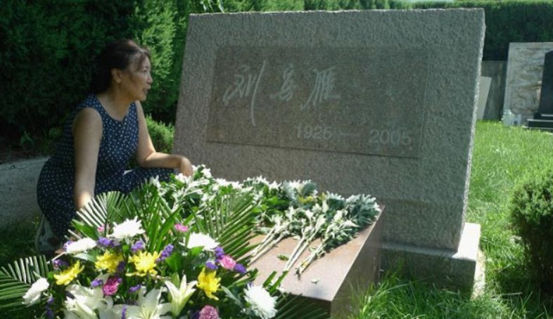 Liu Biyan grave Beiing China dissident