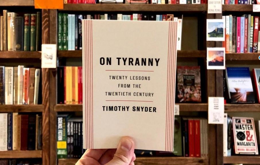 Bleak House Books On Tyranny