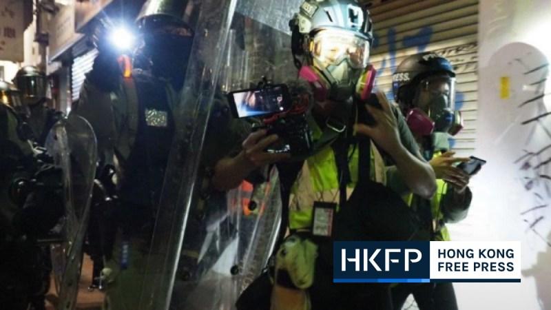 hong kong press freedom