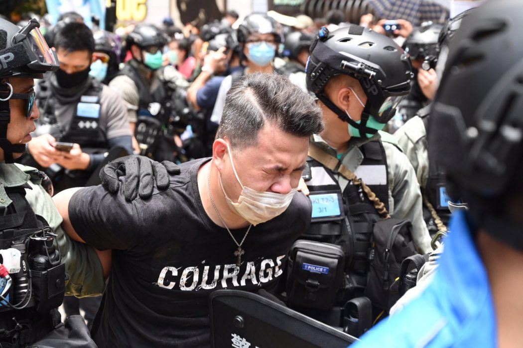 Andrew Wan Democratic Party Causeway Bay arrest July 1 2020