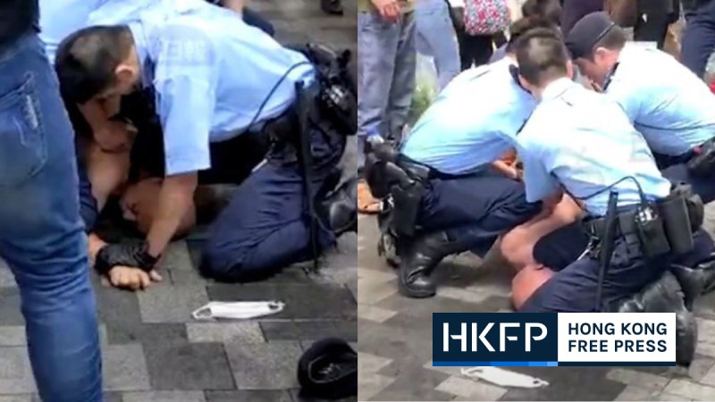 police chokehold