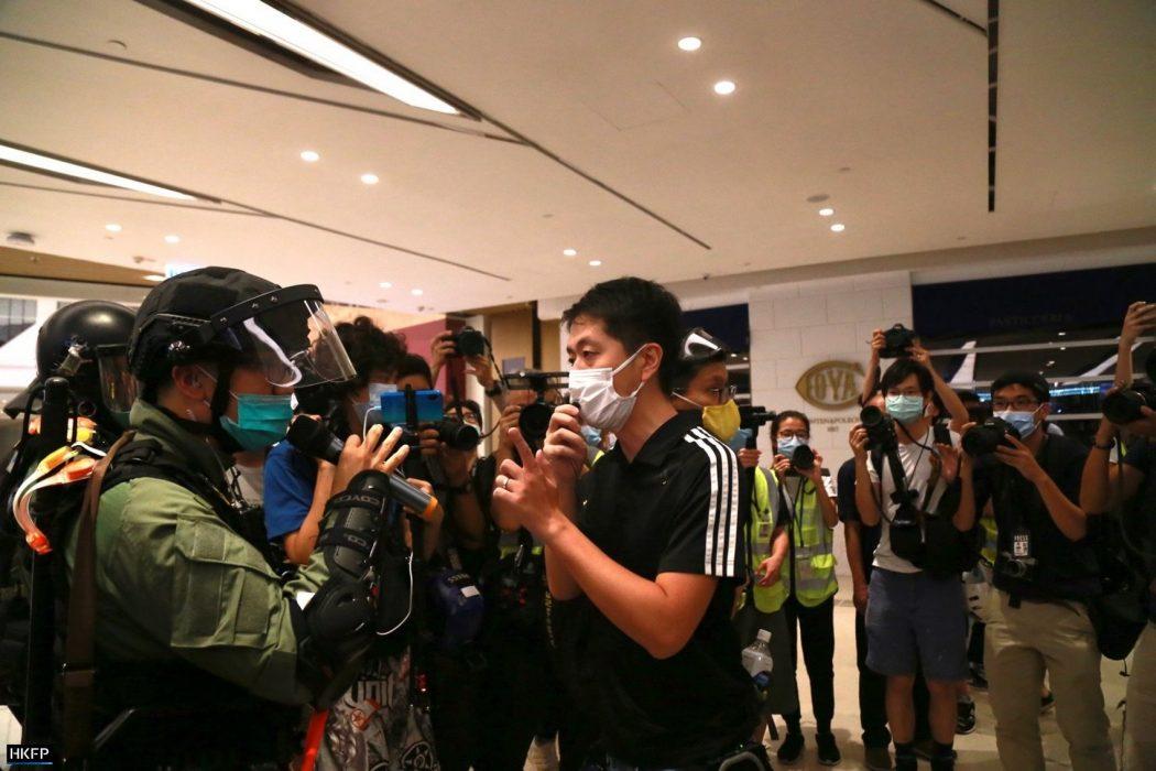 Yuen Long July 21, 2020 Police Ted Hui