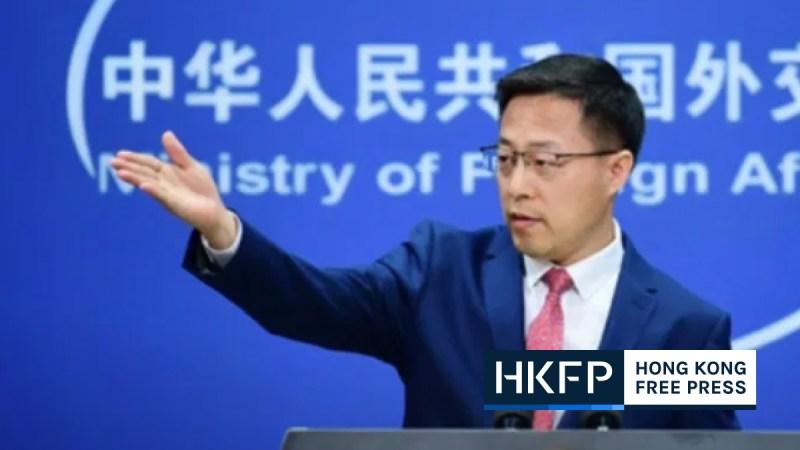 zhao china press freedom