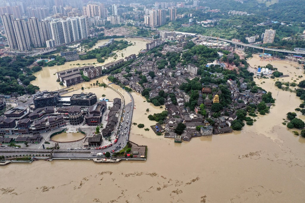China floods 2020