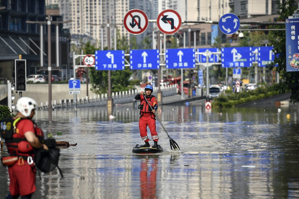 China flood 2020