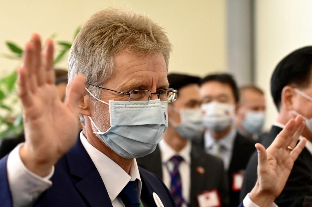 Czech Senate President Milos Vystrcil Taiwan