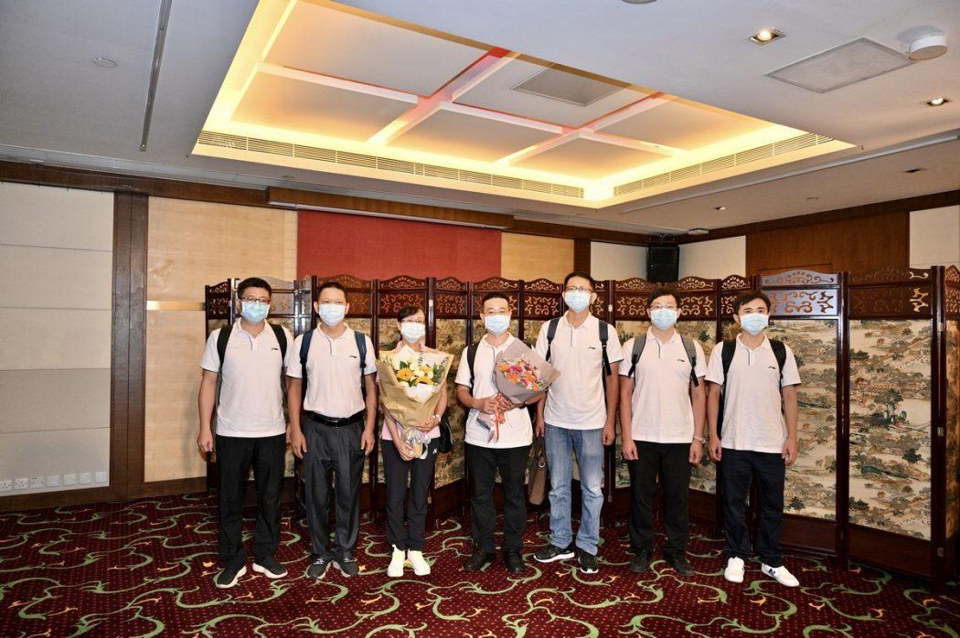 Coronavirus virus covid-19 China personnel