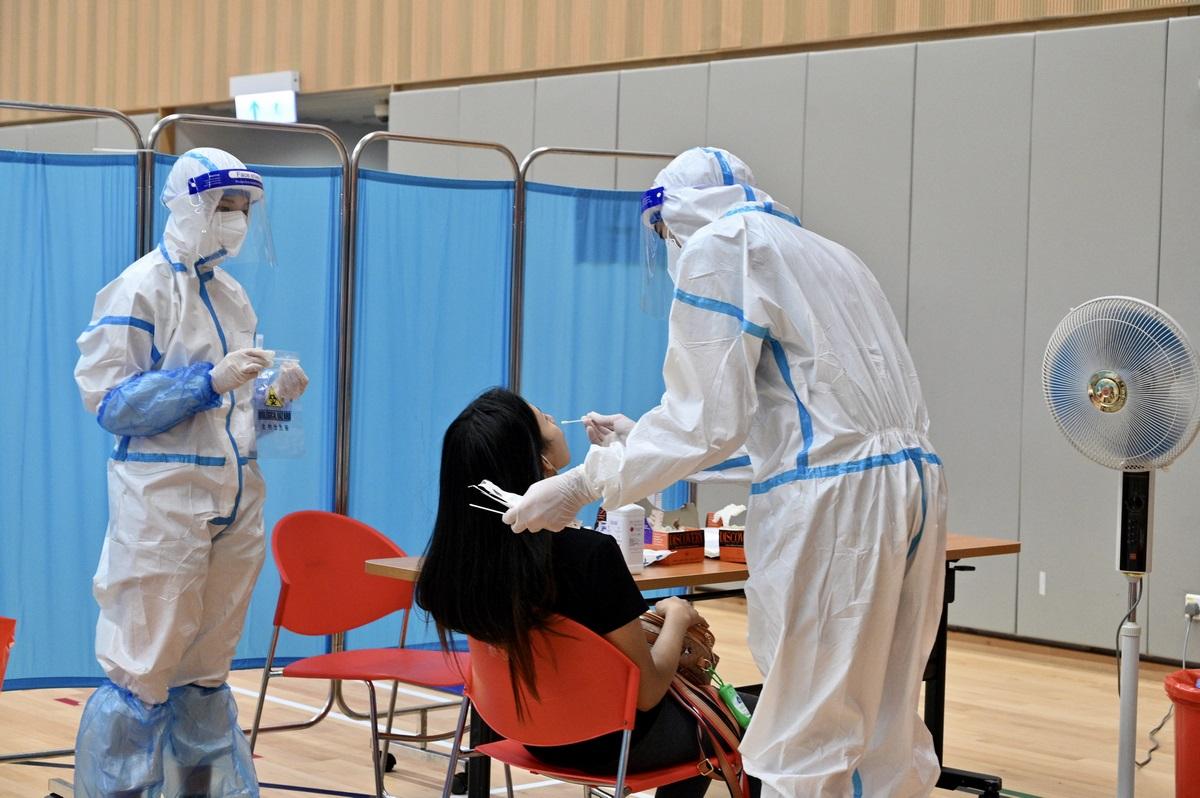 Covid-19 coronavirus virus testing