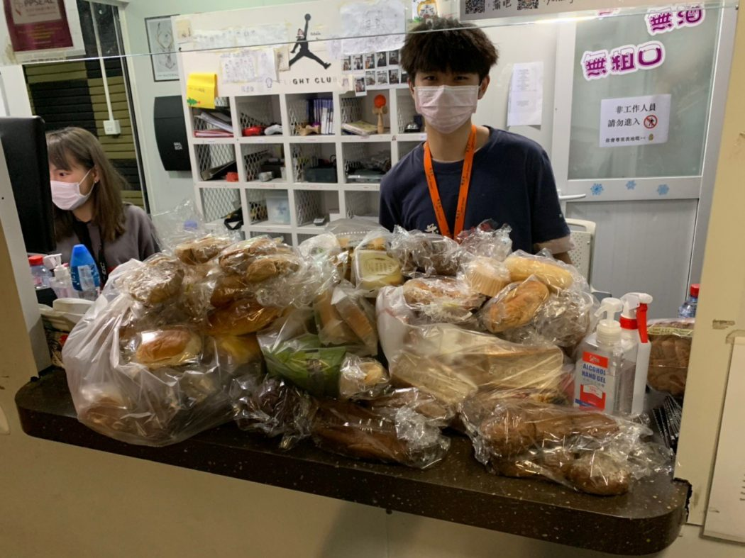 Breadline charity volunteer homeless bread