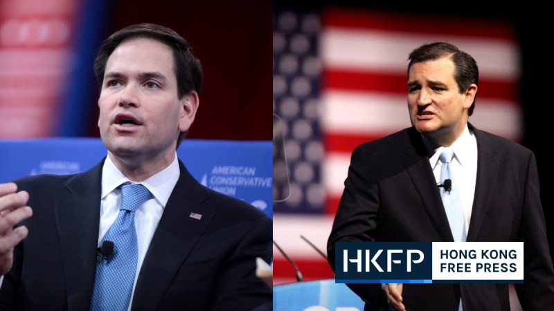 china sanction ted cruz marco rubio