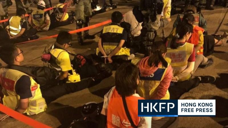 uk police hong kong report