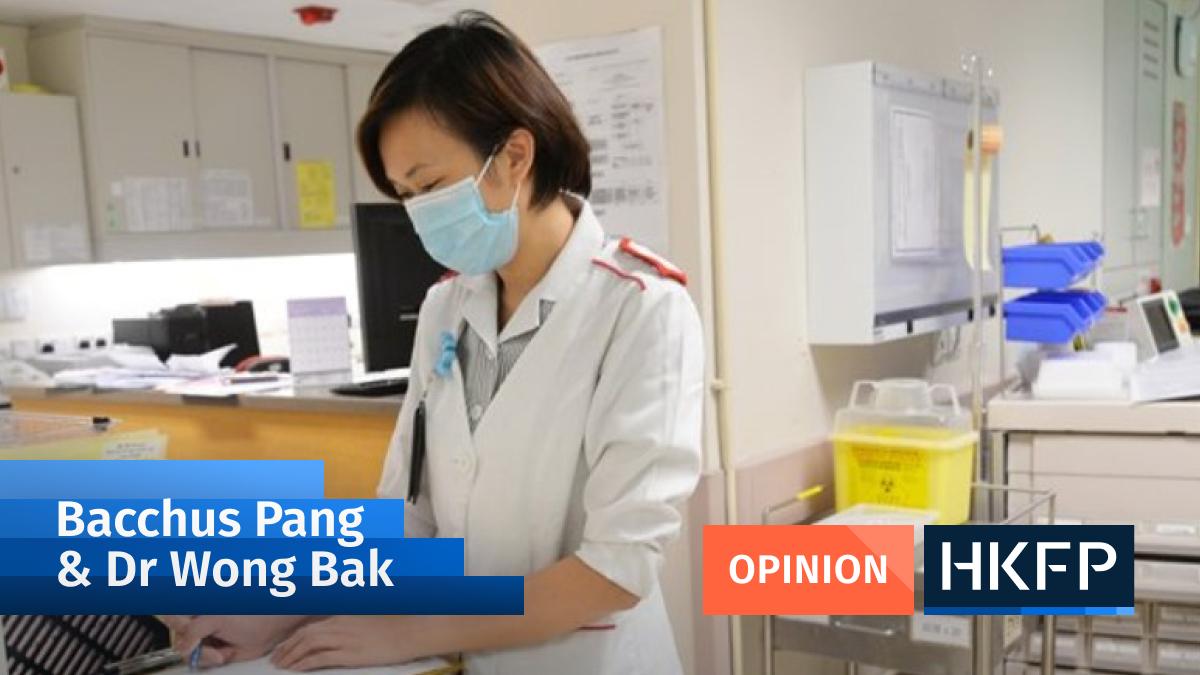 Bacchus Pang and Dr Wong Bak Covid