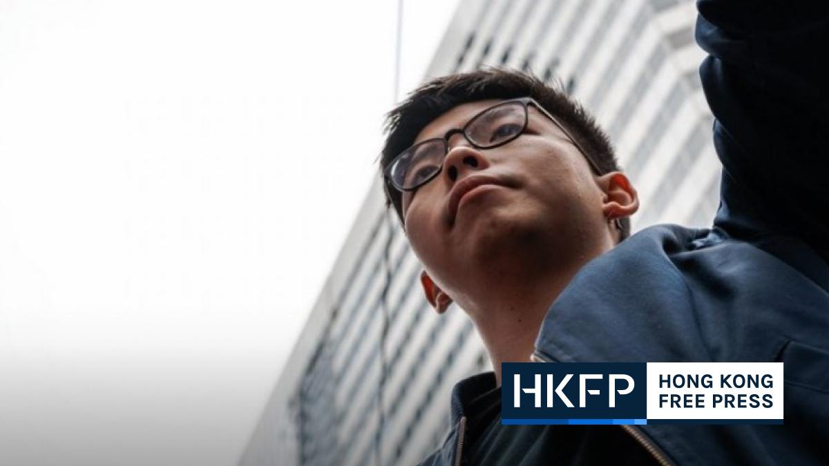 Joshua Wong arrest fears