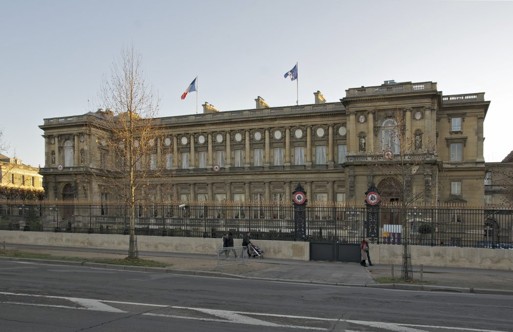 French ministry of Foreign Affairs Paris France