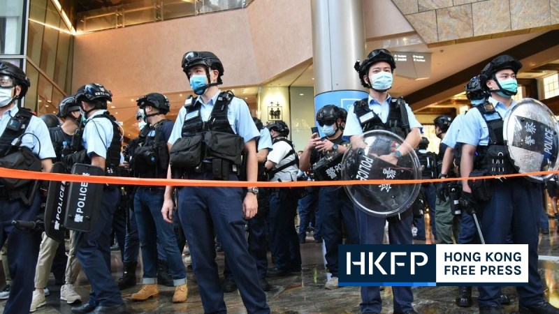 Mong Kok malls Aug 30, 2020