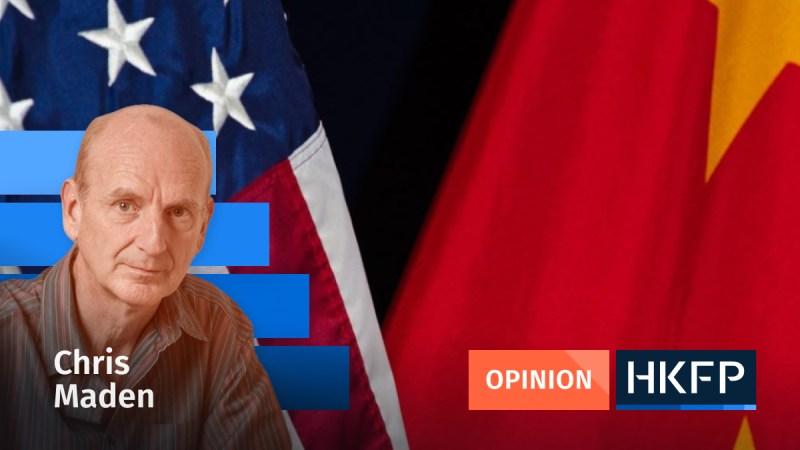 US vs China - Chris Maden