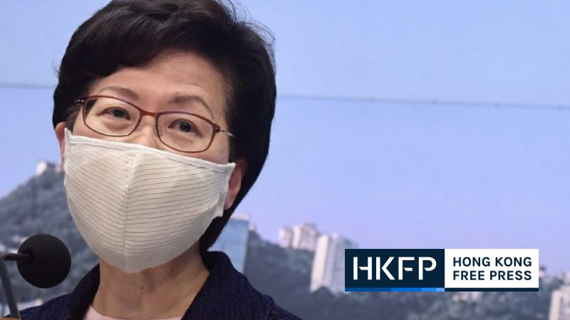 carrie lam sanctions