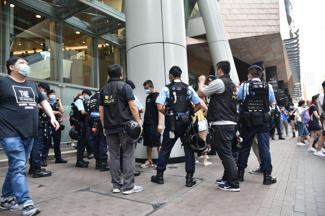 """Police """"August 30, 2020"""" Mong Kok"""