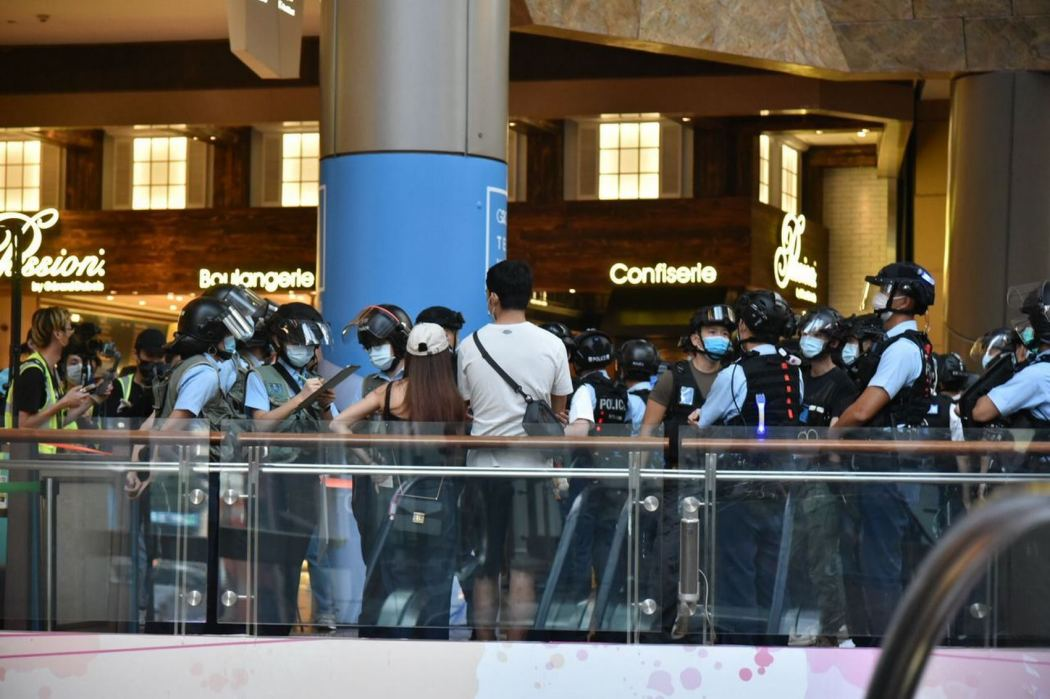 "Police Mong Kok ""August 30, 2020""(Copy)"