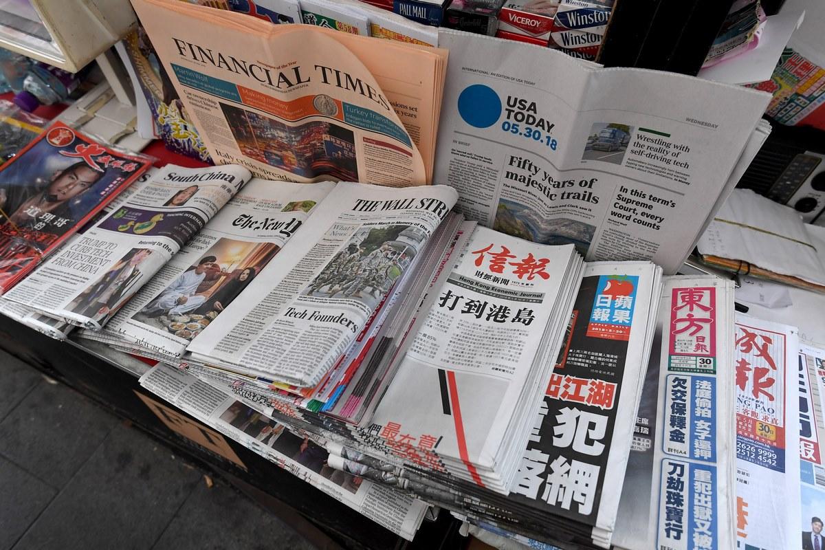 media press freedom newspapers