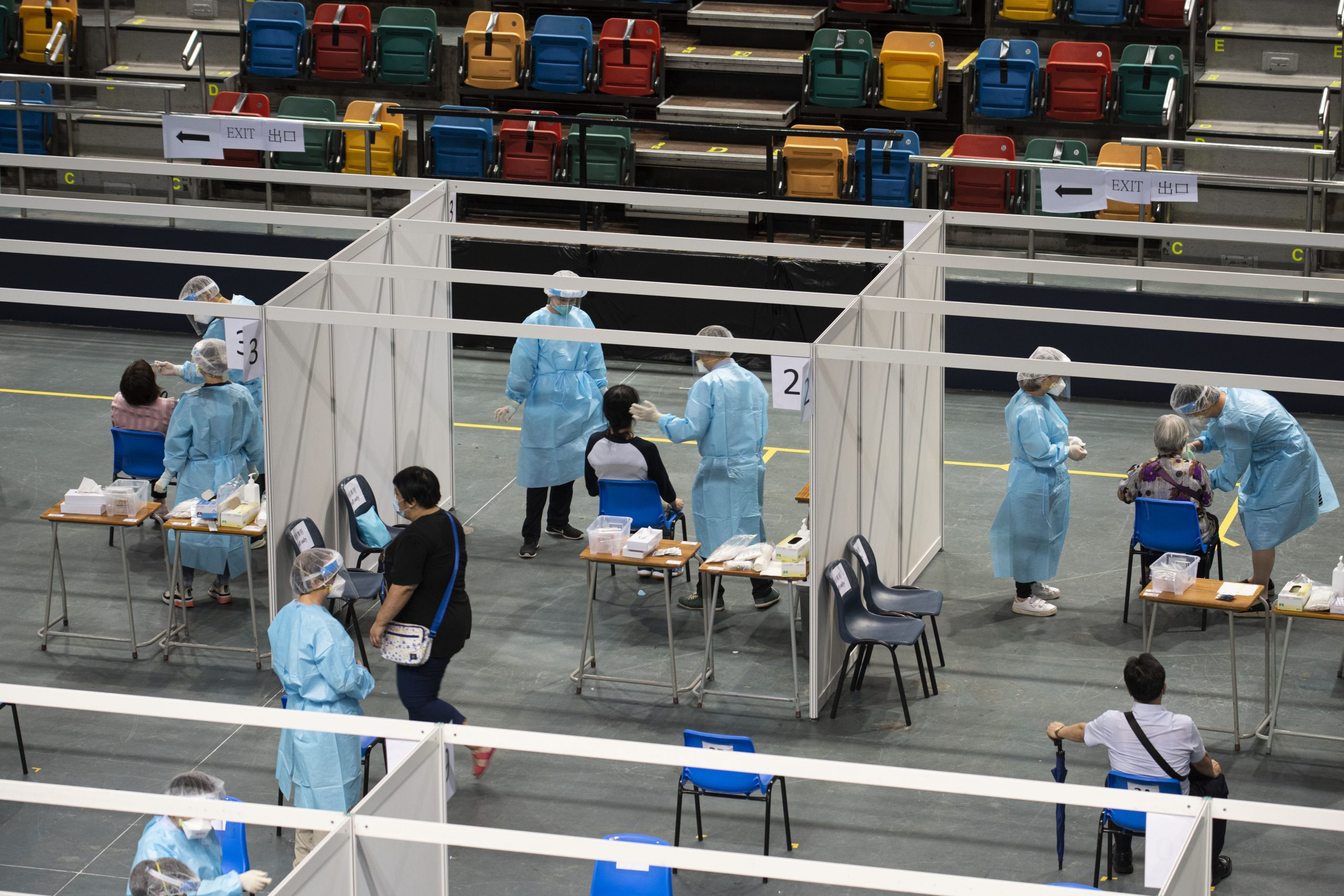 Covid-19 testing facilities