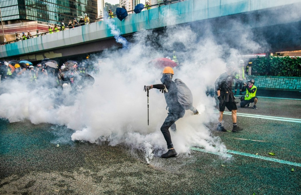 "Protest ""September 15, 2019"" tear gas"