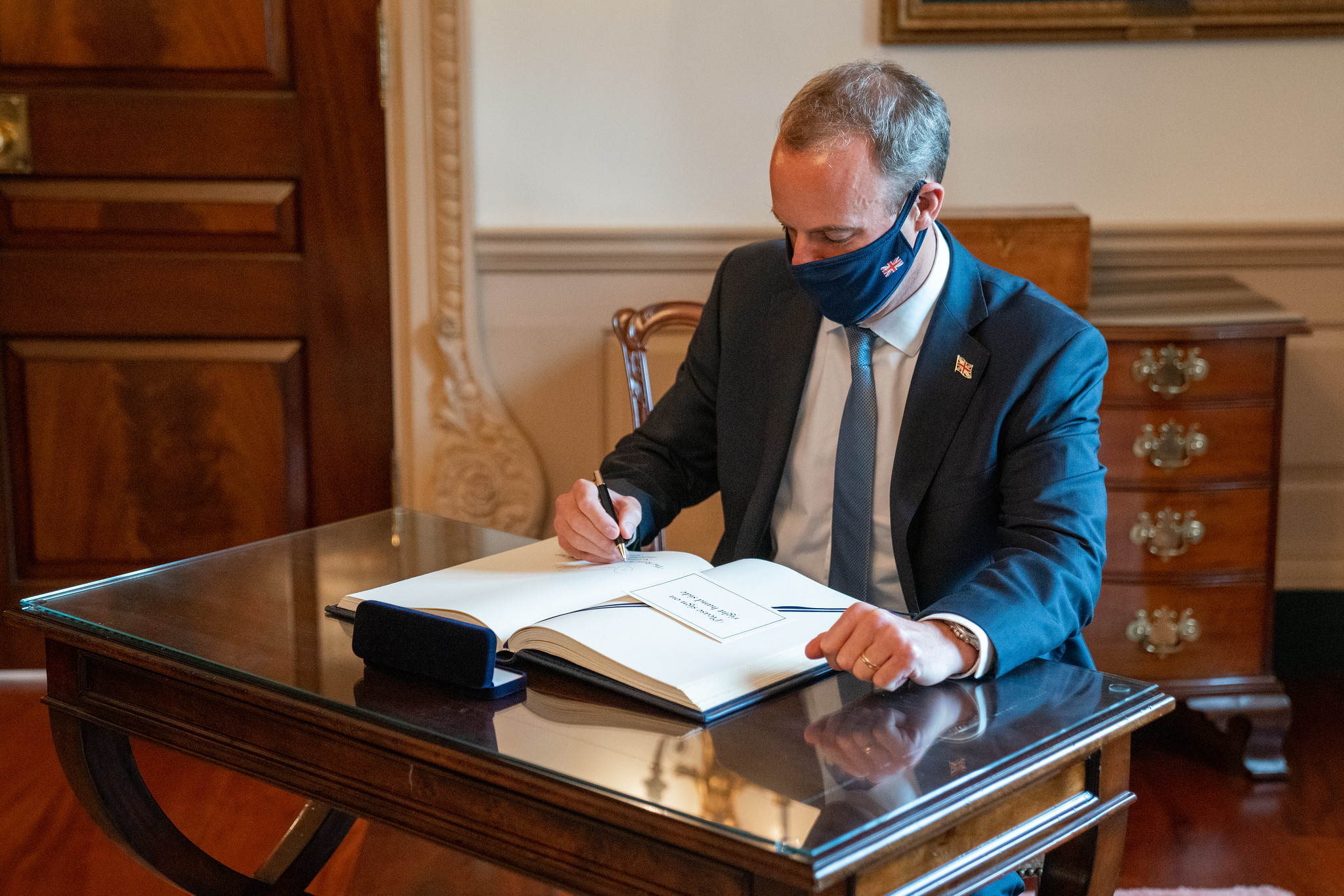 Dominic Raab Uk Foreign Minister