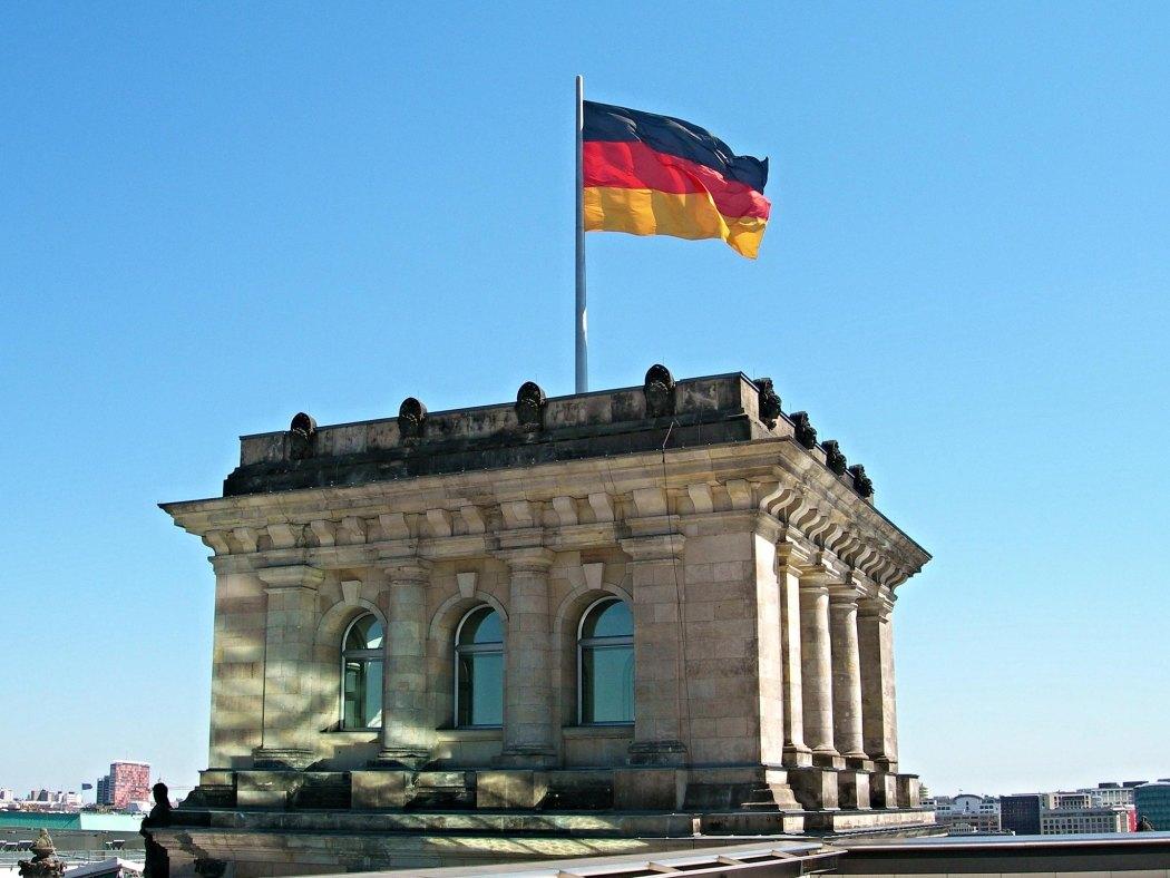 Berlin Germany flag